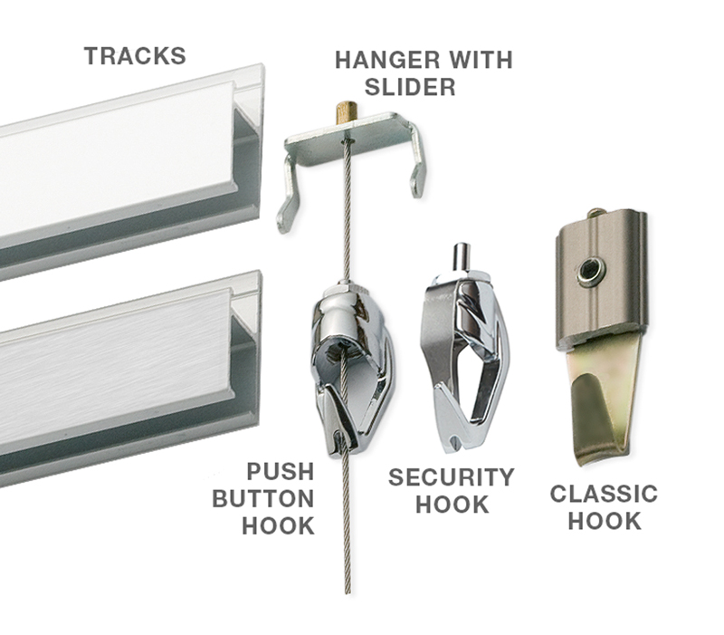 800 Ogs Stainless Steel Hanging System