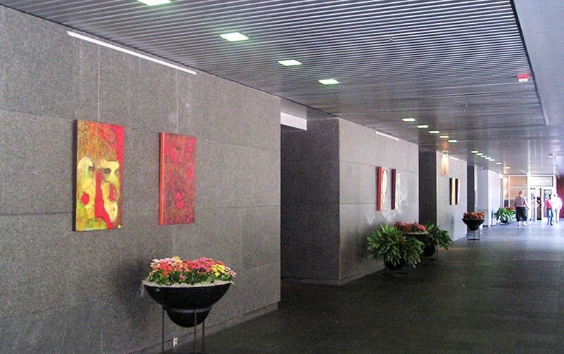 art and picture hanging systems for galleries and offices