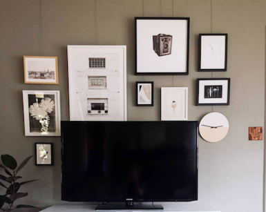 Art Hanging System for Home Use by Artists