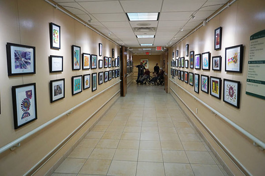 Art Hanging Systems for Senior Living Facilities