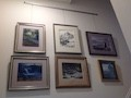 Gallery Wall Art Display with Picture Hanging System
