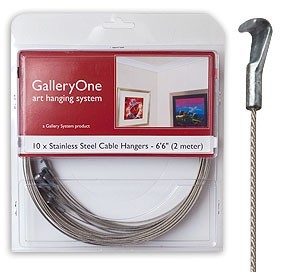 Hangers for GalleryOne Art Hanging System